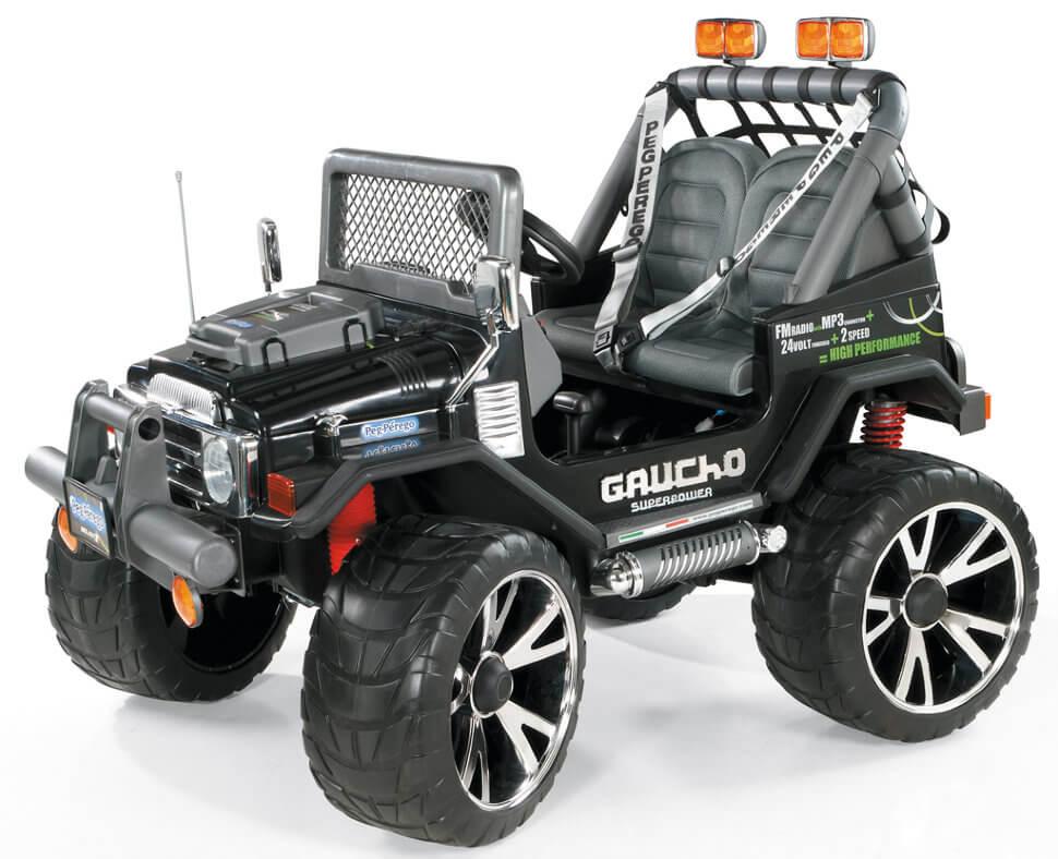Детский электромобиль Peg-Perego Gaucho Superpower NEW