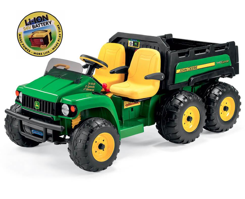 Детский электромобиль Peg-Perego John Deere Gator HPX 6x4 Lithium