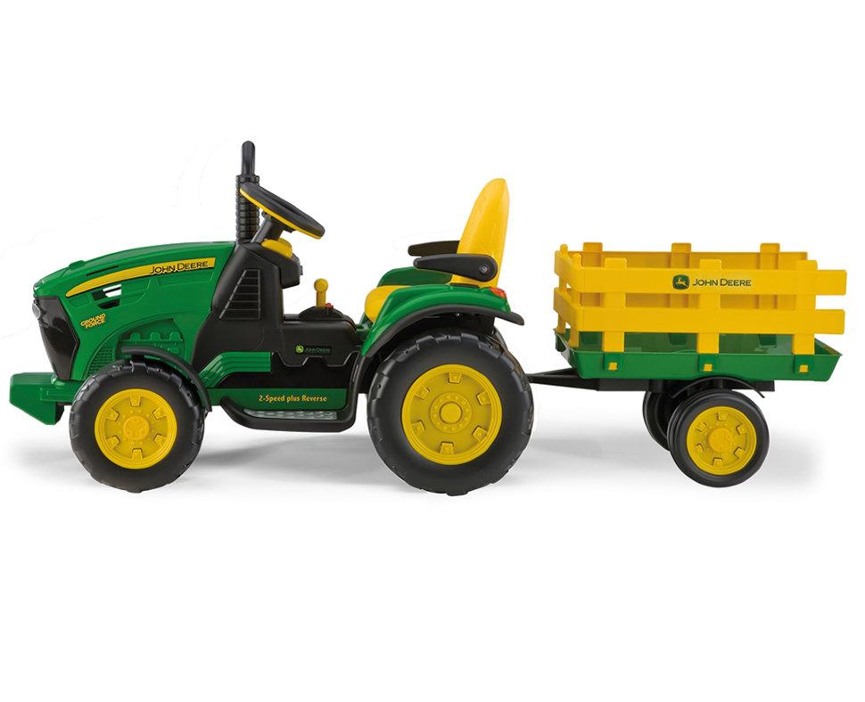 Детский электромобиль-трактор