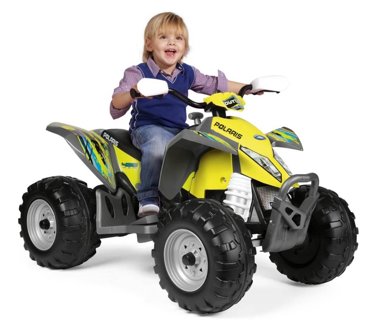 Детский электромобиль Peg-Perego Polaris Outlaw Citrus