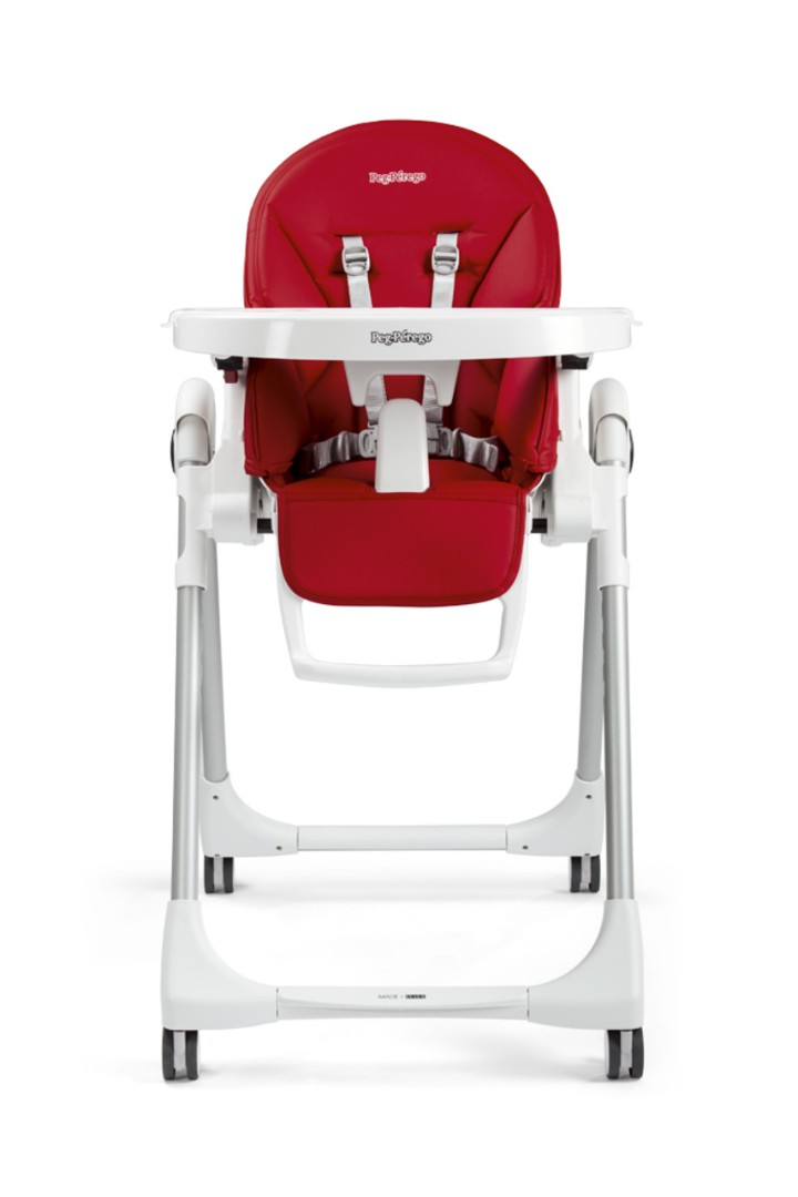 Стульчик для кормления Peg-Perego Prima Pappa Follow Me Linear Grey