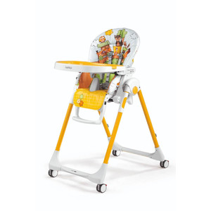 Стульчик для кормления Peg-Perego Prima Pappa Follow Me Fox Friends