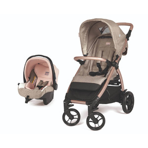 Коляска 2 в 1 Peg-Perego Booklet 50 Travel System  Mon Amour
