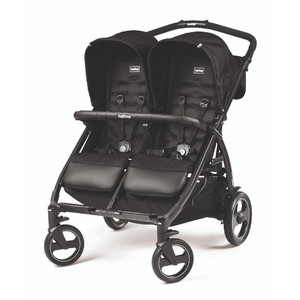 Коляска для двойни Peg-Perego Book For Two Class Black