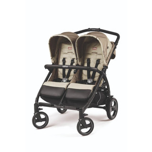 Коляска для двойни Peg-Perego Book For Two Class Beige