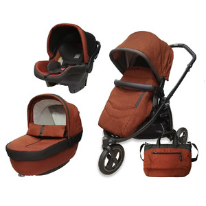 Коляска 3 в 1 Peg-Perego Book Scout Elite Terracotta