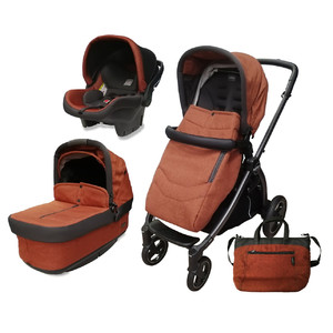 Коляска 3 в 1 Peg-Perego Book S Pop Up Terracotta