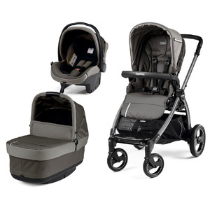 Коляска 3 в 1 Peg-Perego Book S Pop Up Class Grey