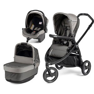 Коляска 3 в 1 Peg-Perego Book Scout Pop Up Class Grey