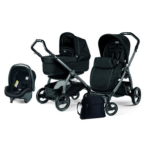 Коляска 3 в 1 Peg-Perego Book S Pop Up Onyx