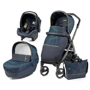 Детская коляска 3 в 1 Peg-Perego Book Newlife Elite Modular