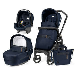 Детская коляска 3 в 1 Peg-Perego Book Rock Navy Elite Modular