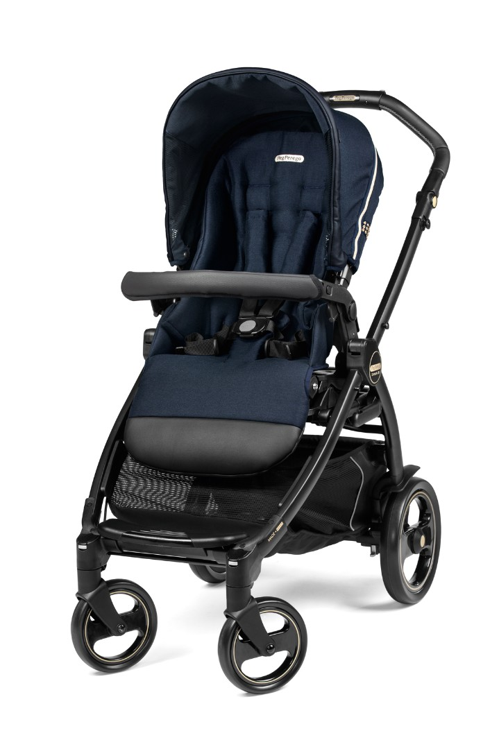 Коляска 3 в 1 Peg-Perego Book Rock Navy Elite Modular