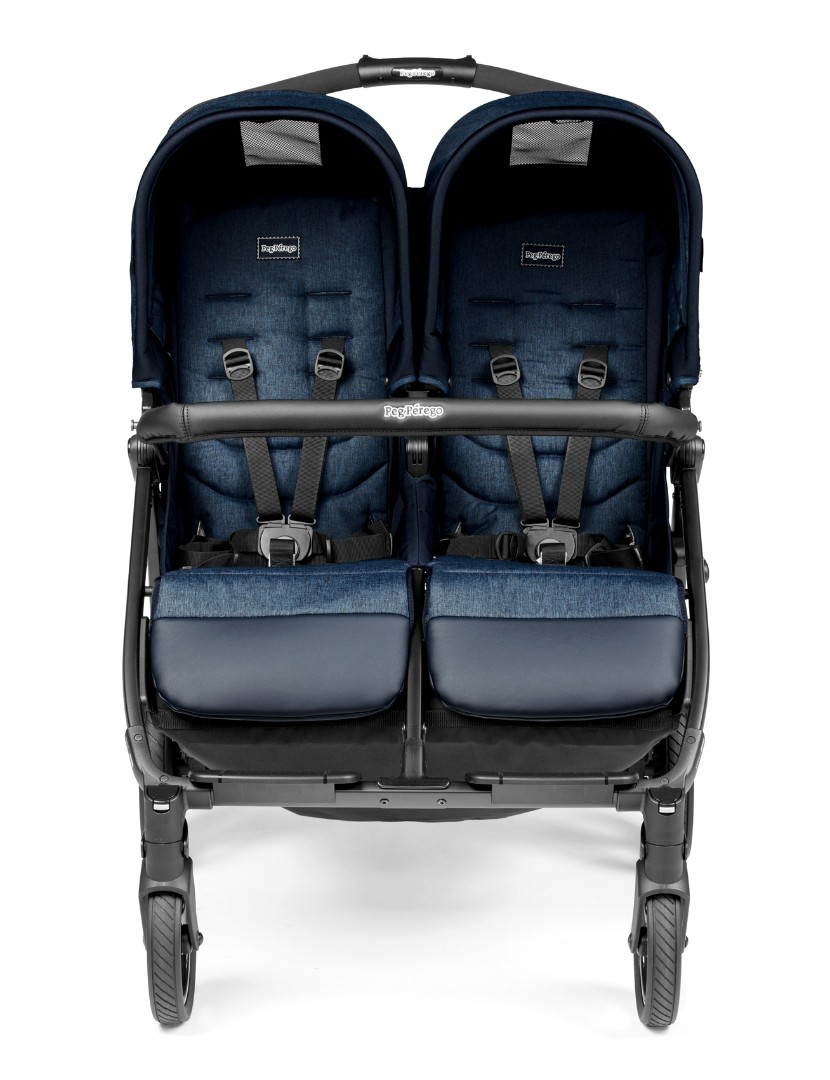 Коляска для двойни Peg-Perego Book For Two Indigo