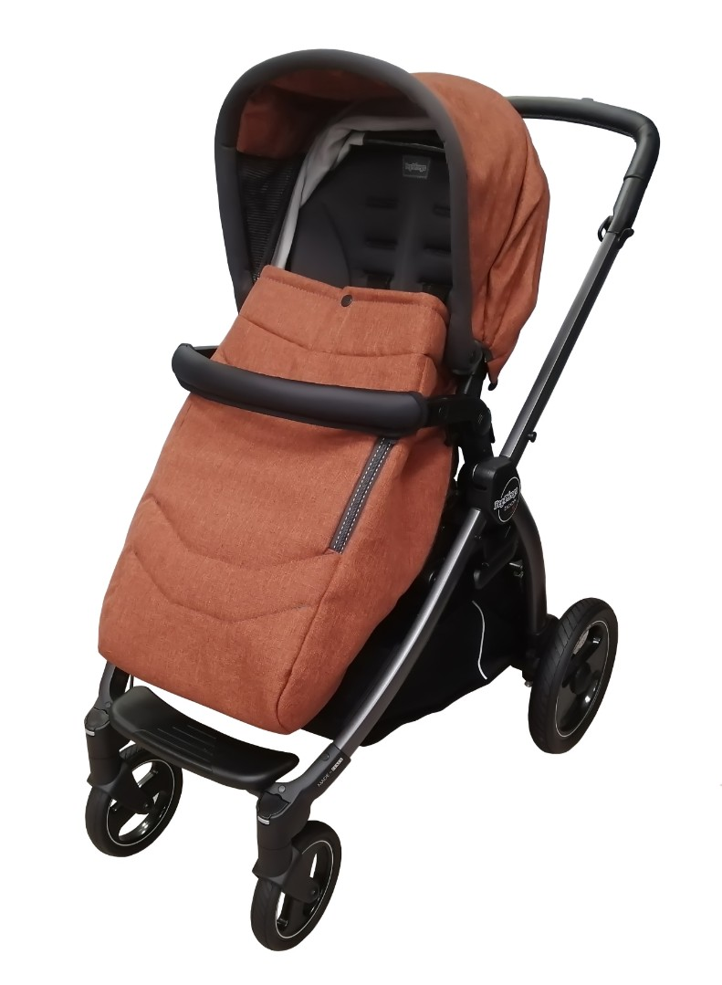 Коляска 3 в 1 Peg-Perego Book S Elite Terracotta
