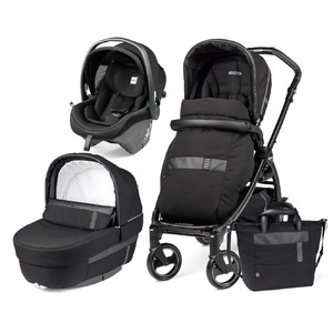 Коляска 3 в 1 Peg-Perego Book i-Size Rock Black Elite Modular