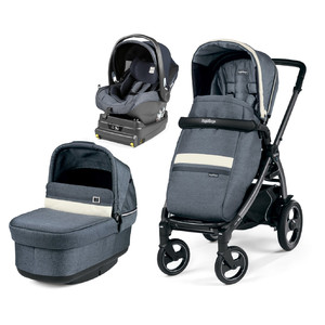 Коляска 3 в 1 Peg-Perego  Book 51 S Pop-Up i-Size Luxe Mirage