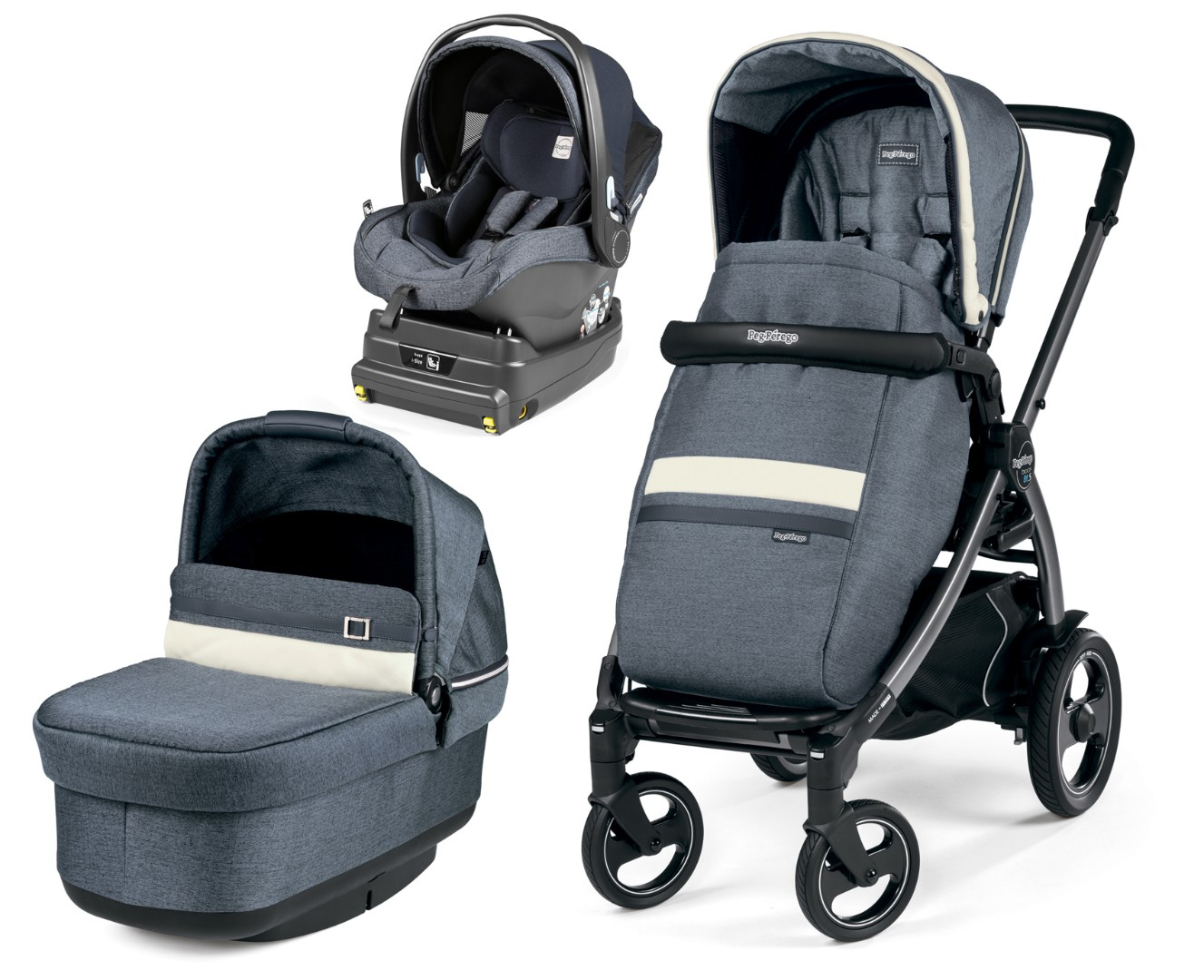 Коляска 3 в 1 Peg-Perego Book 51 S Pop-Up i-Size
