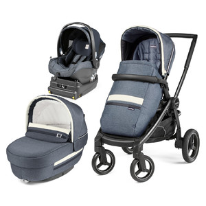 Коляска 3 в 1 Peg-Perego Team Elite i-Size Luxe Mirage