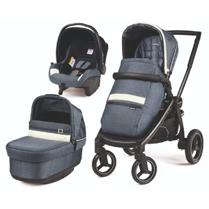 Коляска 3 в 1 Peg-Perego Team Pop-Up SL Luxe Mirage