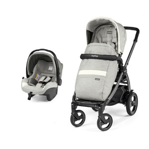 Коляска 2 в 1 Peg-Perego Book 51 S SL Travel System Luxe Pure