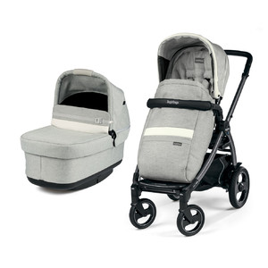 Коляска 2 в 1 Peg-Perego Book 51 S Pop-Up Combo Luxe Pure