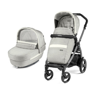 Коляска 2 в 1 Peg-Perego Book 51 Elite Combo Luxe Pure