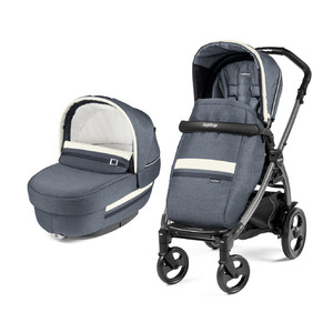 Коляска 2 в 1 Peg-Perego Book 51 Elite Combo Luxe Mirage