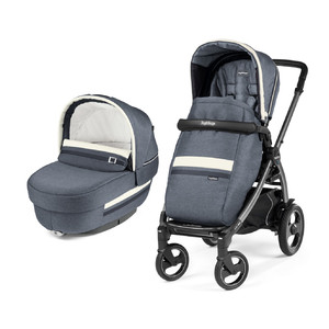 Коляска 2 в 1 Peg-Perego Book 51 S Elite Combo Luxe Mirage