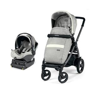 Коляска 2 в 1 Peg-Perego Book 51 S i-Size Travel System Luxe Pure
