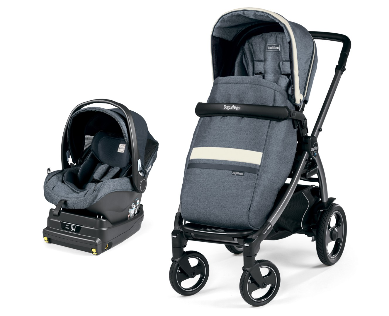 Коляска 2 в 1 Peg-Perego Book 51 S i-Size Travel System Luxe Mirage
