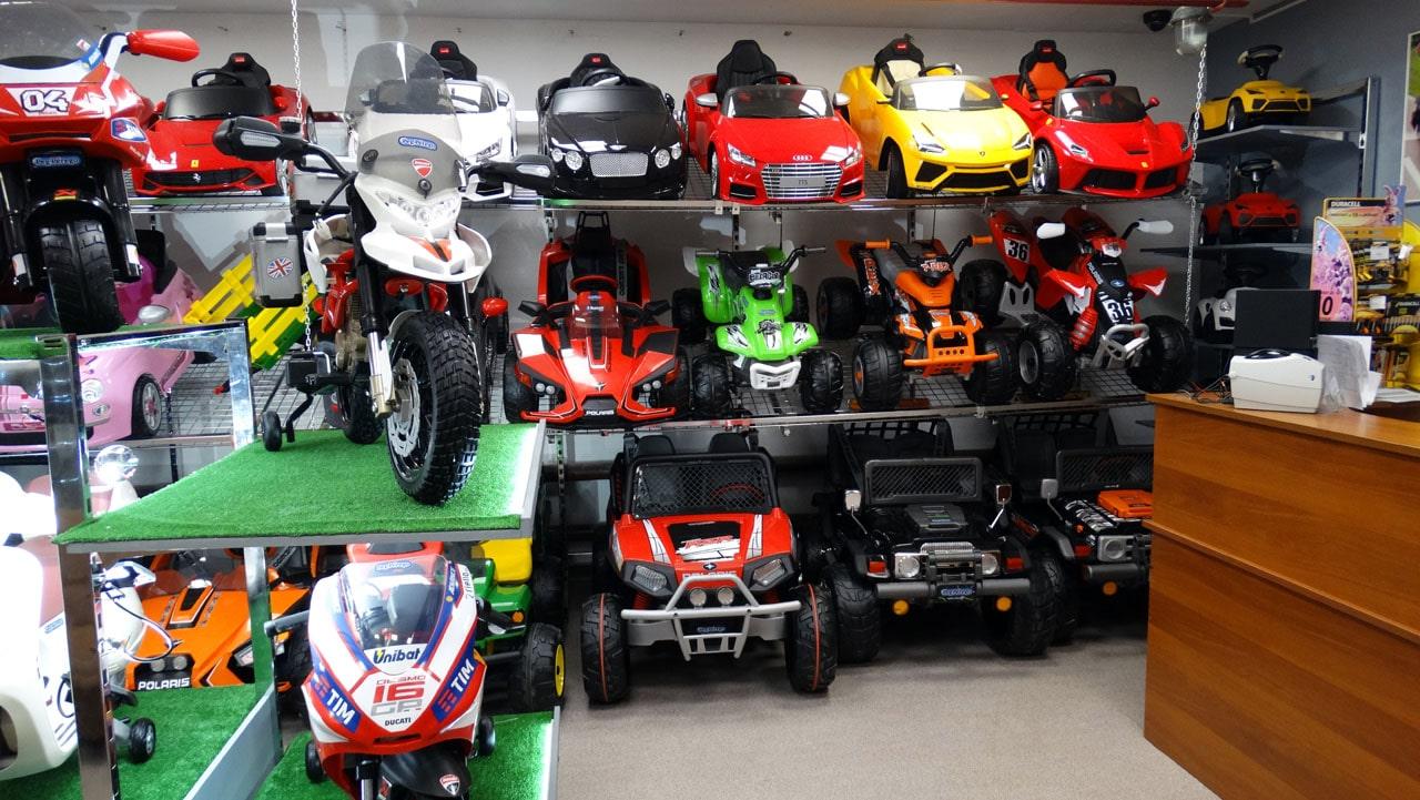 Широкий выбор детских электромобилей